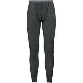Odlo Natural + Warm Suw Pantaloni Uomo, black melange